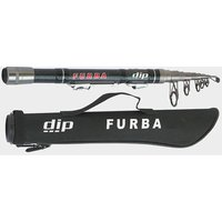 BlueZone Furba 210 Mini Telescopic Spinning Rod, Black