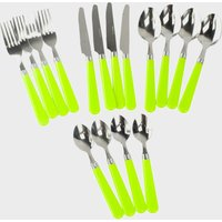 Hi-Gear 16 Piece Cutlery Set, Lime