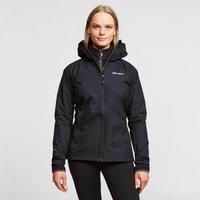 Berghaus Womens Stormcloud Waterproof Jacket - Black/Wmns, B