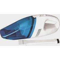 STREETWIZE 12V Wet and Dry Car Vacuum, White/Blue