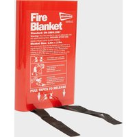 Streetwize Fire Blanket - Red/Blanket, Red/BLANKET