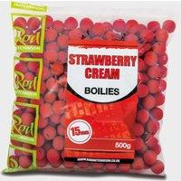 R Hutchinson Boilies Strawberry - Cream/Cream, CREAM/CREAM