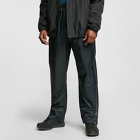 Oex Mens Arimo Waterproof Overtrousers  Black