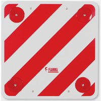 Fiamma Plastic Road Signal Plate, Red