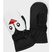 The Edge Children's Character Mitt, Black/KIDS