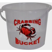 BlueZone 5 Litre Clear Crab Bucket, White