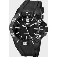 Limit 200m Analogue Watch, Black/WATCH