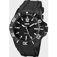 Limit 200M Analogue Watch - Black/Watch, Black/WATCH