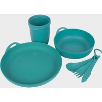 Sea To Summit Delta Camp Set (Bowl, Plate, Mug, Cutlery), Blue/SET
