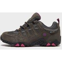 Hi Tec Women's Quadra Classic Waterproof Walking Shoes, Grey/WOMENS