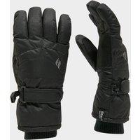 Heat Holders Ladies Ski Gloves - Black/Black, Black/BLACK