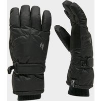 Heat Holders Ladies Ski Gloves, Black/BLACK