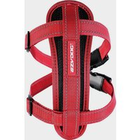 Ezy-Dog Chest Plate Harness Medium - Red, Red