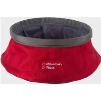 Mountain Paws Water Bowl (Small) - Red/Lrg, Red/LRG