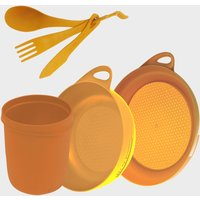 Sea To Summit Delta Camp Set (bowl  Plate  Mug  Cutlery)  Orange