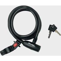 Masterlock Cable 10Mm X 1800Mm Key - Black, Black