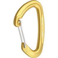 Grivel K2 Gamma Wire Gate Carabiner, Yellow/Yellow