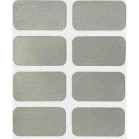 Luma Rectangular Reflective Stickers (Pack Of 6) -
