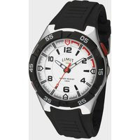 Limit Active Analogue Men's Sports Watch - Black/Watch, BLACK/WATCH
