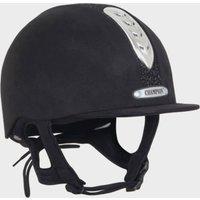 Champion Junior X-air Dazle Plus Riding Helmet  Black