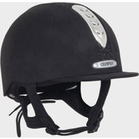 Champion Junior X-Air Dazzle Plus Riding Helmet - Black/Plus, Black/PLUS