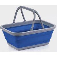Hi-Gear Folding Wash Bowl - Blue/Bowl, Blue/BOWL