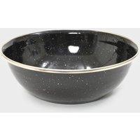 Hi-Gear Enamel Bowl - Black, Black