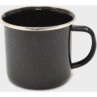 Hi-Gear 12oz Enamel Cup, Black