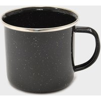 Hi-Gear 12Oz Enamel Cup - Black/12Oz, Black/12OZ