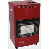 Quest Large Gas Cabinet Heater (Fire Red), Red