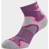 1000 Mile Womens Fusion Anklet Sock  Black