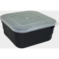 FLADEN Black 2 5 Pint Square Bait Box, BAI/BAI