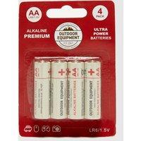 Handy Heroes AA 4 Pack Alkaline Batteries, White/BATTERI