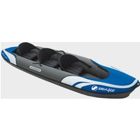 Sevylor Hudson 2+1 Man Inflatable Family Kayak, Blue