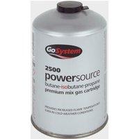 GOGas PowerSource Butane/Propane Mix Gas Cartridge (445g), Grey/GAS