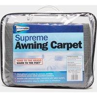 STREETWIZE Supreme Awning Carpet, Black/250X450CM