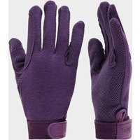 Shires Kids' Newbury Gloves, PURPLE/PURPLE