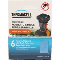 THERMACELL Backpacker Mosquito Repellent Refills Mats, 24HR/24HR