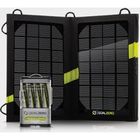 Goal Zero Guide 10 Plus & Nomad 7 Plus Solar Kit, Black/V