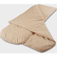 Duvalay Compact Dual Season Sleeping Bag (Cappuccino) - White/Season, WHITE/SEASON