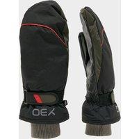 Oex Summit Waterproof Mitts, Black