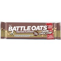 Battle Oats Protein Flapjack 70G (Dark Choc Chip) - Brown/Chi, BROWN/CHI