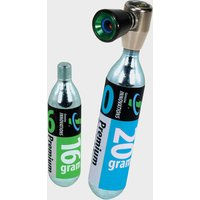 Genuine Inno Airchuck Co2 Inflator - Black/Blue, BLACK/BLUE