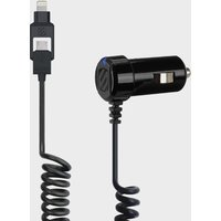 Scosche StrikeDrive Smart 12W Car Charger, Black/CHARGER
