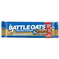 Battle Oats Protein Flapjack 70G (Double Choc Brownie) - Brownie/Brownie, BROWNIE/BROWNIE