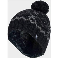 Heat Holders Helskinki Chunky Knit Beanie, Black/HAT