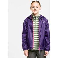 FreedomTrail Kids' Tempest Waterproof Jacket, Purple