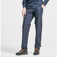 HI-GEAR Mens Nebraska II Zip-Off Walking Trousers, NAVY/TROUS