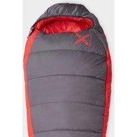 Oex Fathom Ev 400 Sleeping Bag - Grey/Red, grey/red