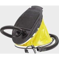 HI-GEAR 3L Bellows Foot Pump, Black/FOOTPUMP